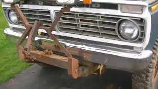 1973 FORD F250 HIGHBOY RESTORATION PROJECT PART 1