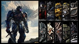 "Transformers: The Last Knight - Cast Robots ""OFFICIAL Cast"""