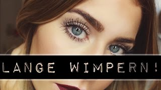 getlinkyoutube.com-LANGE WIMPERN - ein paar Tipps! | BELLA