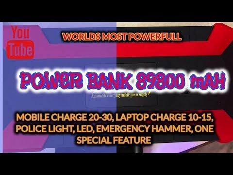 POWERFUL POWER BANK ALL IN ONE JUMP STARTER MARUTI SUZUKI S CROSS BREZZA TATA HARRIER XUV300 CRETA