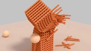 getlinkyoutube.com-Blender - Bullet Physics (HD)