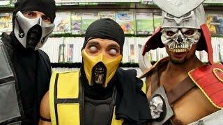 getlinkyoutube.com-Mortal Kombat Vs GameStop (Trolling MKX Release)