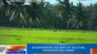 getlinkyoutube.com-NTG: Engkwentro ng BIFF at militar, nakunan ng video