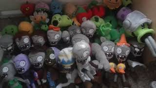 getlinkyoutube.com-plants vs zombies plush collection  2