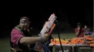 getlinkyoutube.com-TNS Nerf War - Humans vs Zombies | 2012 August