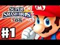 Super Smash Bros. 3DS - Gameplay Walkthrough Part 1 - Mario! (Nintendo 3DS Gameplay)