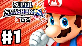 getlinkyoutube.com-Super Smash Bros. 3DS - Gameplay Walkthrough Part 1 - Mario! (Nintendo 3DS Gameplay)