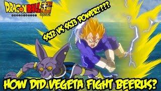 getlinkyoutube.com-Dragon Ball Super: How Did SSJ2 Vegeta Fight Beerus Better Than Super Saiyan 3 Goku?