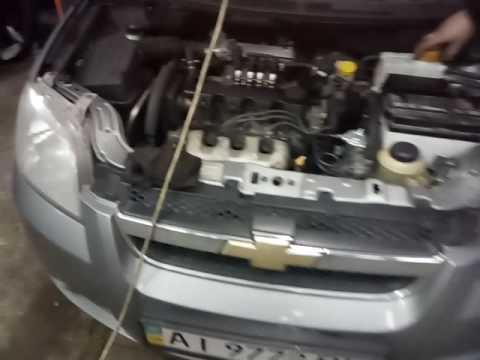 Где в Chevrolet Эпика пробка слива антифриза