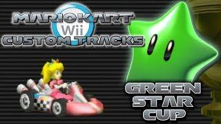 getlinkyoutube.com-Mario Kart Wii Custom Tracks - Green Star Cup