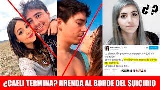 getlinkyoutube.com-¿Caeli TERMINA (ahora sí) con su novio Memo Avilán? - Brenda Mim al borde del suicidio