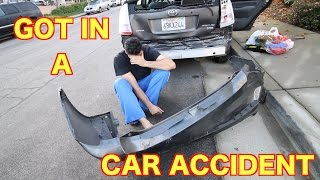 getlinkyoutube.com-GOT IN A CAR ACCIDENT (CAR TOTALED)