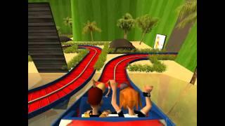 getlinkyoutube.com-New Super Mario Bros. Wii: The Ride RCT3 (Remake)