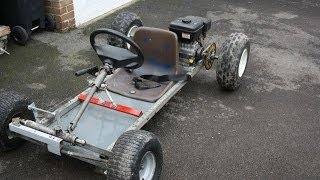 homemade go karts (MK1 and MK2)