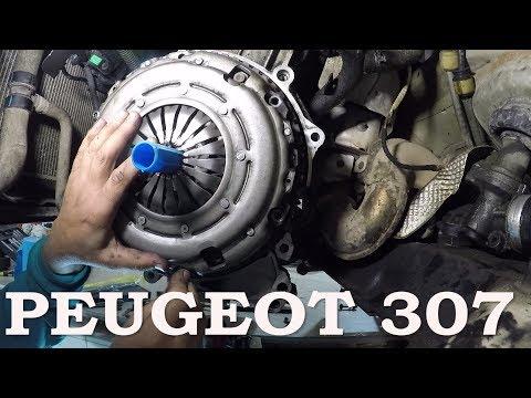 Замена заднего сальника коленвала Peugeot 307