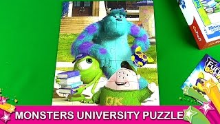 getlinkyoutube.com-Monsters University  Mike Sulley Scott Squishy Squibbles Puzzle