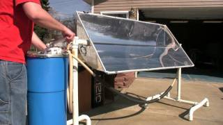 getlinkyoutube.com-Solar Trough: Maple Syrup Preheater