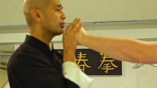 "getlinkyoutube.com-Wing Chun - Can ""Soft"" Structure Really Stop Hard & Powerful Attacks?"