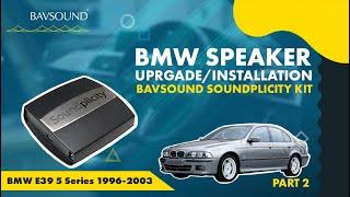 getlinkyoutube.com-BAVSOUND - Pt 2/2: BMW E39 5 Series '96-2003 - iPod / iPhone / Droid - Soundplicity Kit Installation