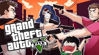 THE ULTIMATE TEST! - GTA5 Funny Moments (One In The Chamber Fun)