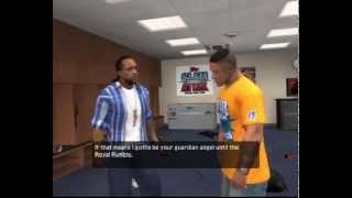 WWE Smackdown vs Raw 2011 RTWM Cut Scenes *CENA*