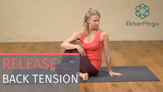 Yoga Twists to release Tension in the Back