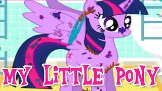 getlinkyoutube.com-💫 My Little Pony Friendship is Magic Twilight Sparkle Messy Full Makeover 2015 Game for Children