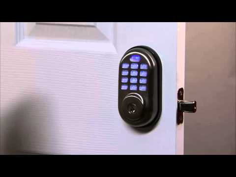Yale Real Living Push Button Deadbolt Programming - All Code Lockout 10