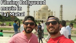 getlinkyoutube.com-Filming Bollywood movie in TAJ MAHAL!!
