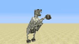 getlinkyoutube.com-【Minecraft】スケルトンの馬を出現させる方法!『MOD不要』 How to summon Skeleton Horse!!