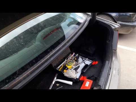 Замена ламп номерного знака хонда цивик 4д