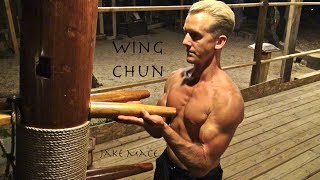 getlinkyoutube.com-Wing Chun WOODEN DUMMY Real Fighting - Bruce Lee, Yip Man Be Proud - Muk Jong or Mu Ren Zhuang!