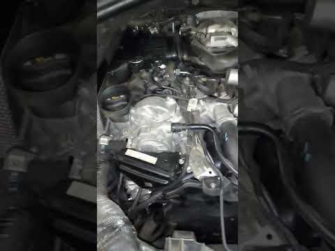 Ом642 Мерседес w166.Работа двигателя после капремонта.