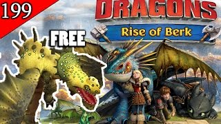 getlinkyoutube.com-FREE Gustnudger Dragon! #TeamHiccup Wins! - Dragons: Rise of Berk [Episode 199]