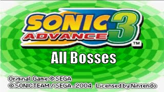 getlinkyoutube.com-Sonic Advance 3 All Bosses