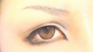 getlinkyoutube.com-Tutorial : Anime Eye Makeup  23