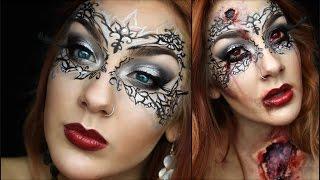 Masquerade Ball GONE WRONG Part1 -  Halloween Tutorial