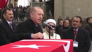 Şehit Teğmen Muhammed Kır son yolculuğuna uğurlandı
