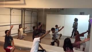 Shriyan.d dance performance