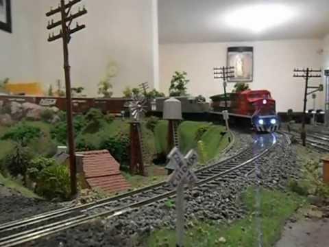 Maquetas de trenes ho en mexico 2013.