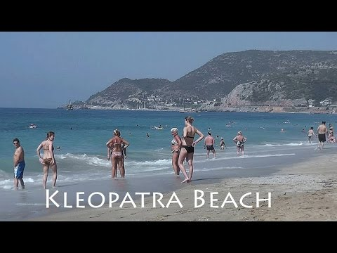 TURKEY: Kleopatra Beach, Alanya [HD]