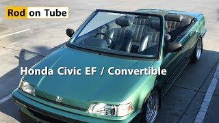 Honda Civic EF Convertible - ตัดหลังคา เปิดประทุน