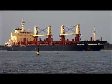 Click to view video IOANNA D - IMO 9634969 - Germany - River Weser - Brake Unterweser