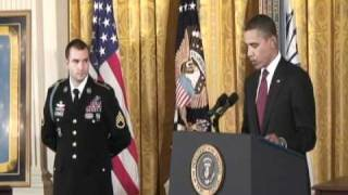 getlinkyoutube.com-Medal of Honor Ceremony for Staff Sgt. Salvatore Giunta