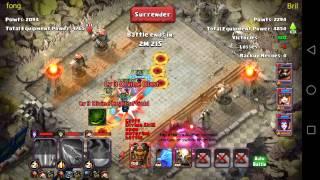 getlinkyoutube.com-Clash of Lords 2 - Heroes Trials
