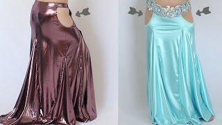 """How to Make """"Naked"""" Costumes [cutout options for dance costumes]"""