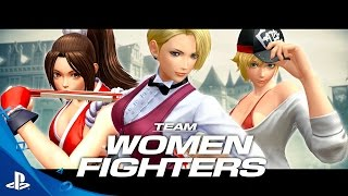 getlinkyoutube.com-The King of Fighters XIV - Team Women Fighters Trailer | PS4