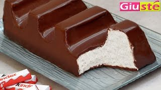 getlinkyoutube.com-Torta barretta kinder cioccolato gigante