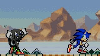 getlinkyoutube.com-Sonic Advance 2 - Part 5 - Sky Canyon Zone - Egg Saucer - Special Stage 5