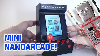 getlinkyoutube.com-NANOARCADE - Working Miniature Arcade Machine / Console!